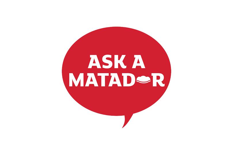 Ask a Matador Button