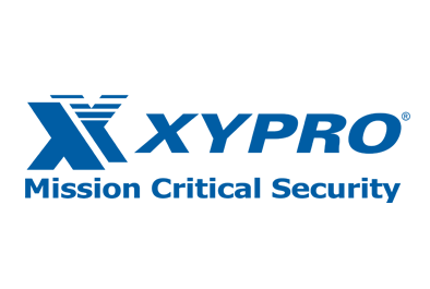 Xypro Logo and Button to their website
